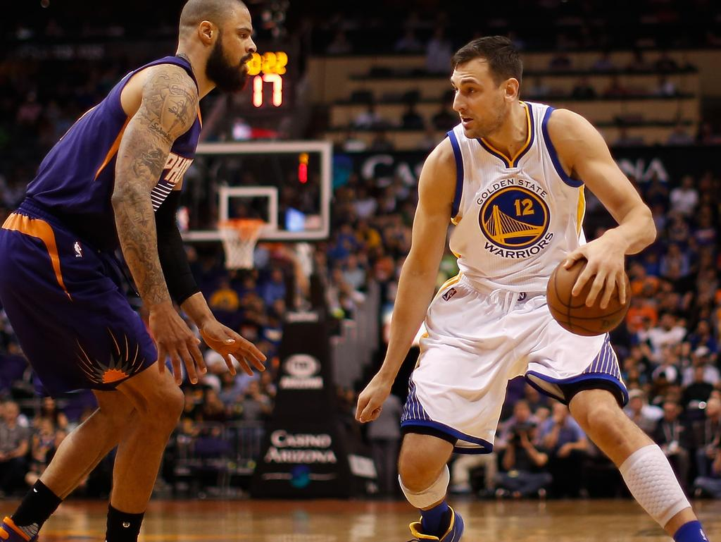 d71d844bf713 Bogut doesn t buy into the debate about who would win between the Warriors  and