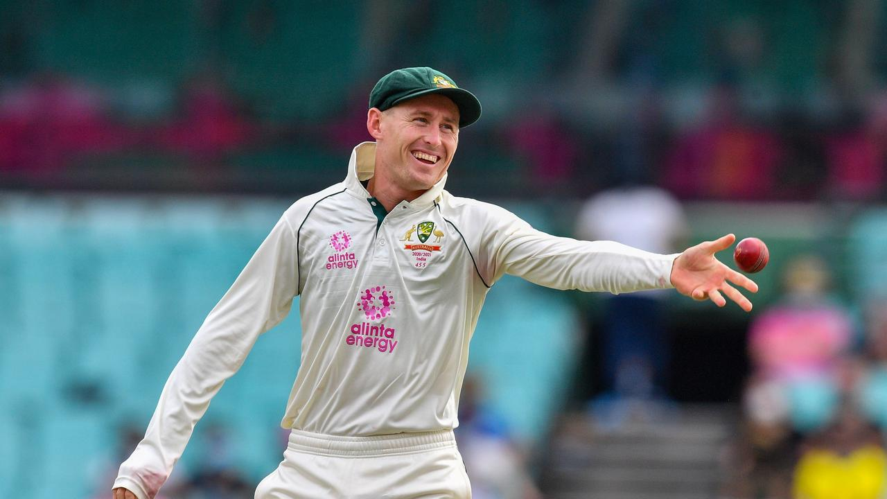 Marnus Labuschagne was cracking the jokes in the field.