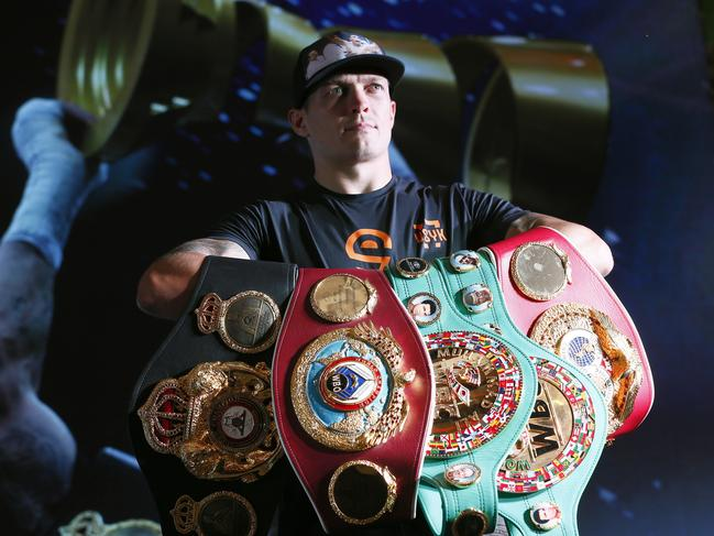 Oleksandr Usyk is the unified world cruiserweight champion.