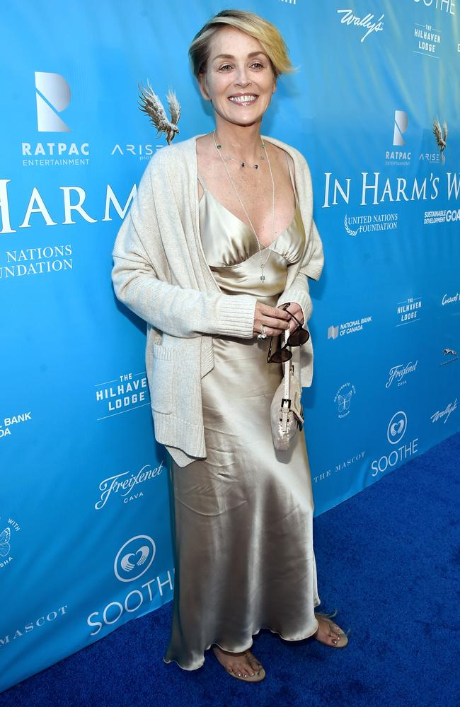 Sharon Stone, 58, says she felt like she died in 2001. Picture: Alberto E. Rodriguez/Getty Images for Arise Pictures
