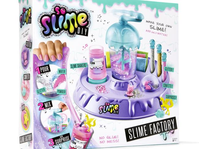Kids can easily create their own slime with the Slime Factory. Cost, $29.