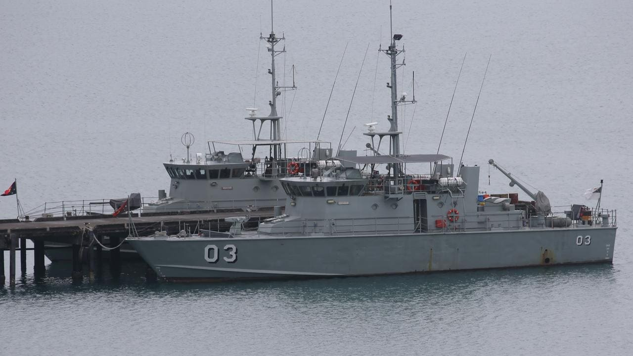 Manus Island new home for Australian navy as China concerns