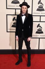 James Bay attends The 58th GRAMMY Awards at Staples Center on February 15, 2016 in Los Angeles. Picture: AP