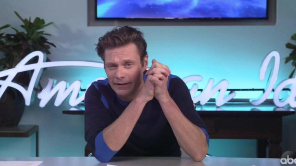 Seacrest later admitted he had been exhausted during the finale. Picture: ABC