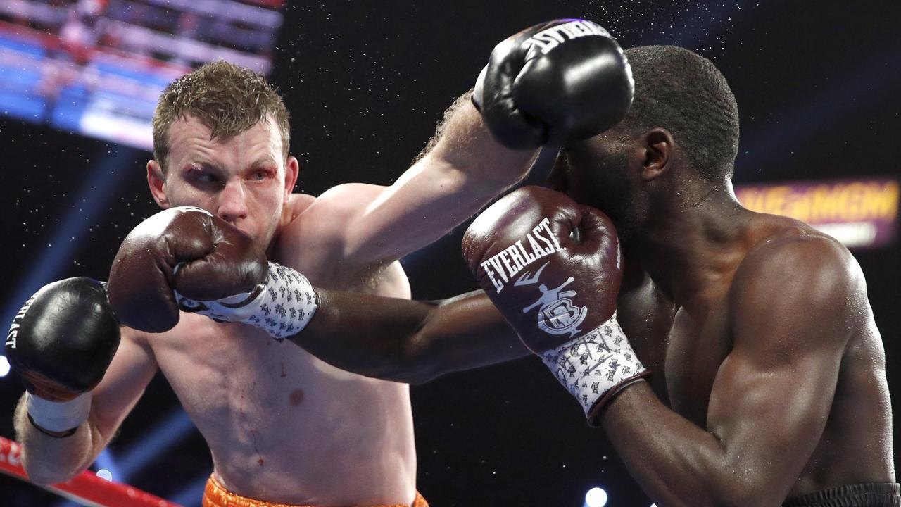 Jeff Horn took 126 hits to the head from Terence Crawford, but thinks he has more to offer after the brutal loss.