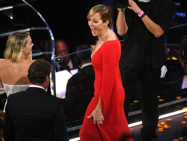 Janney wins her first Academy Award for her role in I, Tonya.