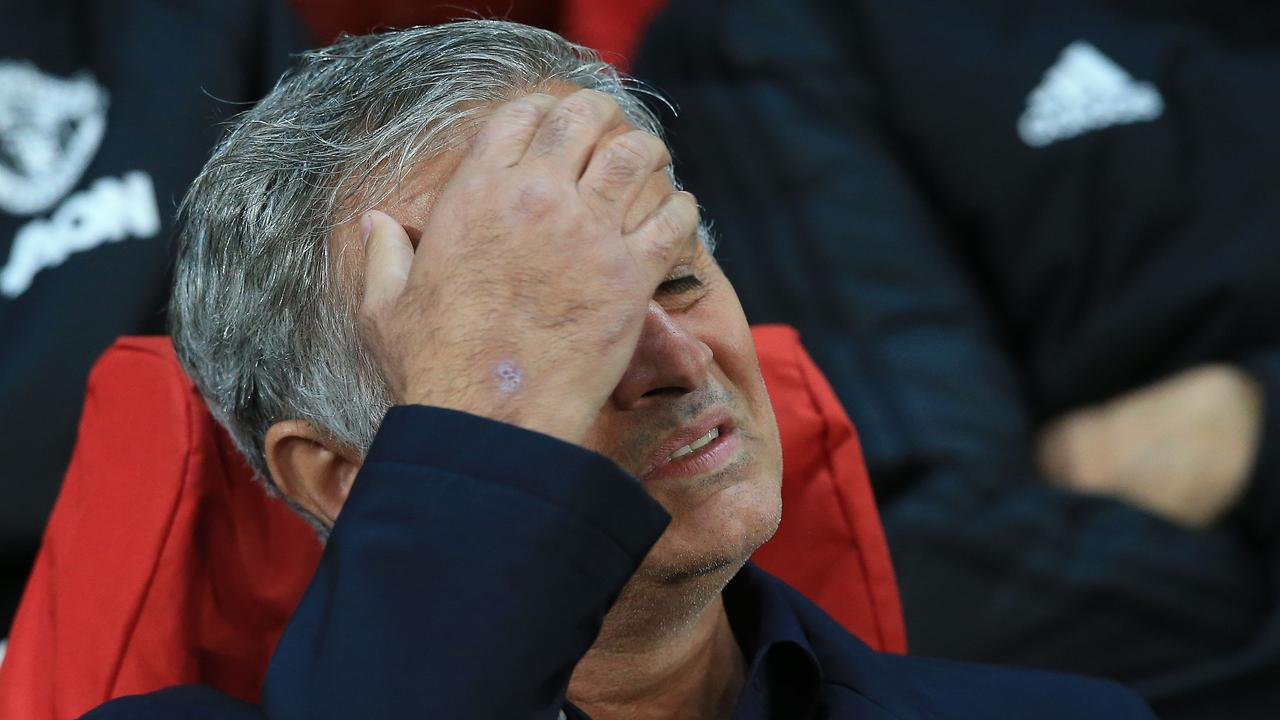 More headaches. The spotlight is firmly on Manchester United manager Jose Mourinho after another disappointing result.