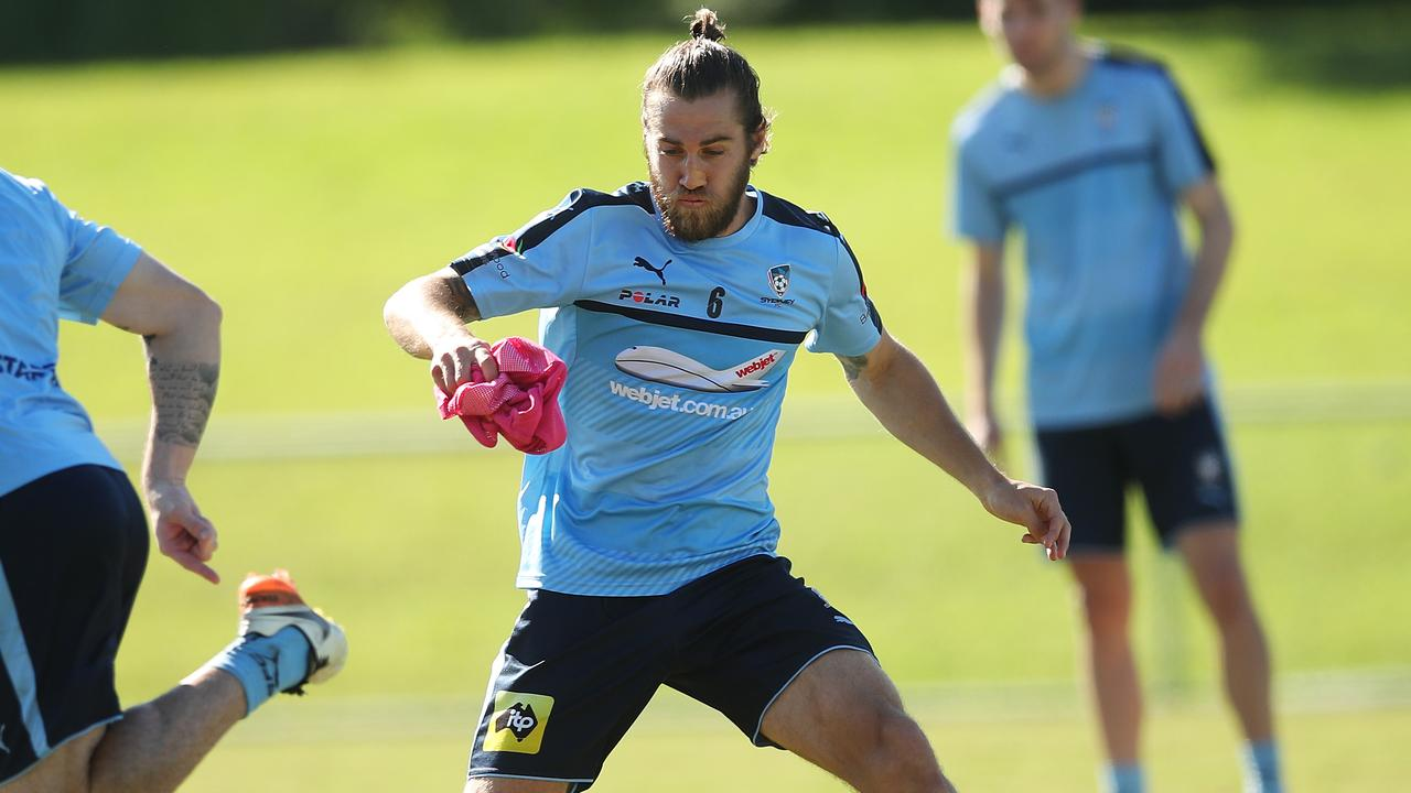 Josh Brillante has been vital for Sydney FC.