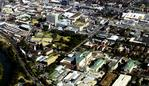 Aerial view of Liverpool in western Sydney, 19/07/2002. Picture: Jeff Darmanin