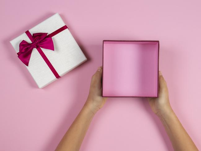 Giving gifts only to receive nothing back can be very hurtful. Picture: iStock