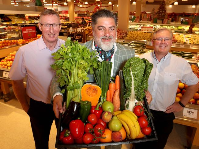 He said Australian produce was nothing to write home about. Picture: David Geraghty/ The Australian.