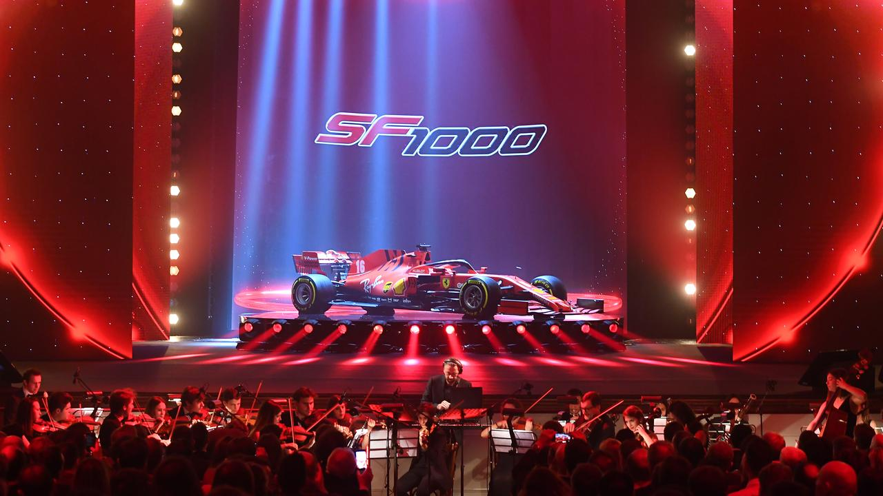 Ferrari's dramatic launch of the 2020 car.