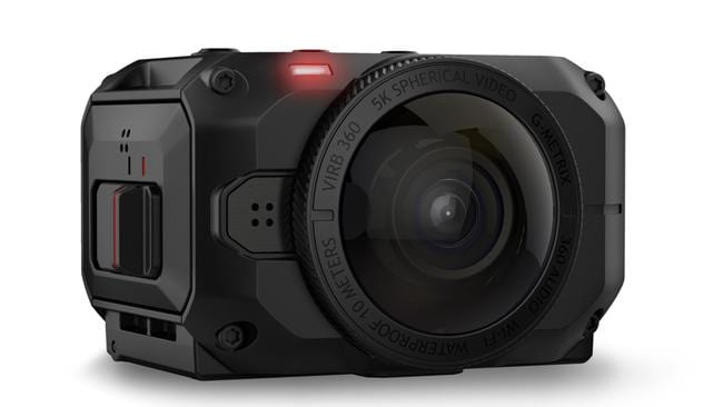The Garmin Virb 360 is a 360-degree camera capable of capturing 4K video.