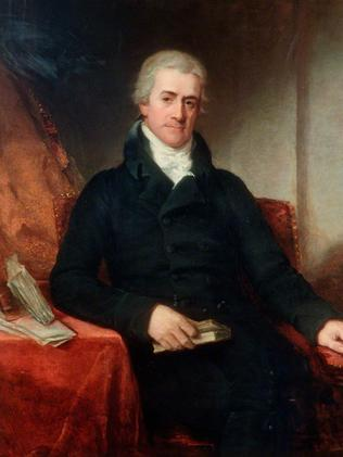 Sir Samuel Romilly, Solicitor General of the UK circa 1806 by William Owen.