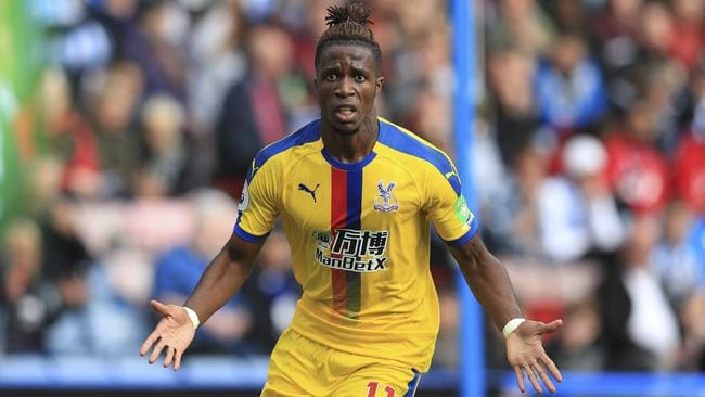 Wilfried Zaha is Palace's top goalscorer this season.