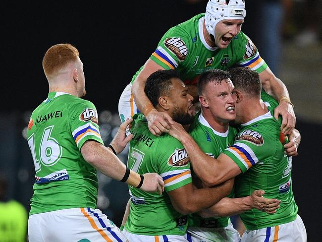 Jack Wighton's try wasn't enough for the Raiders.
