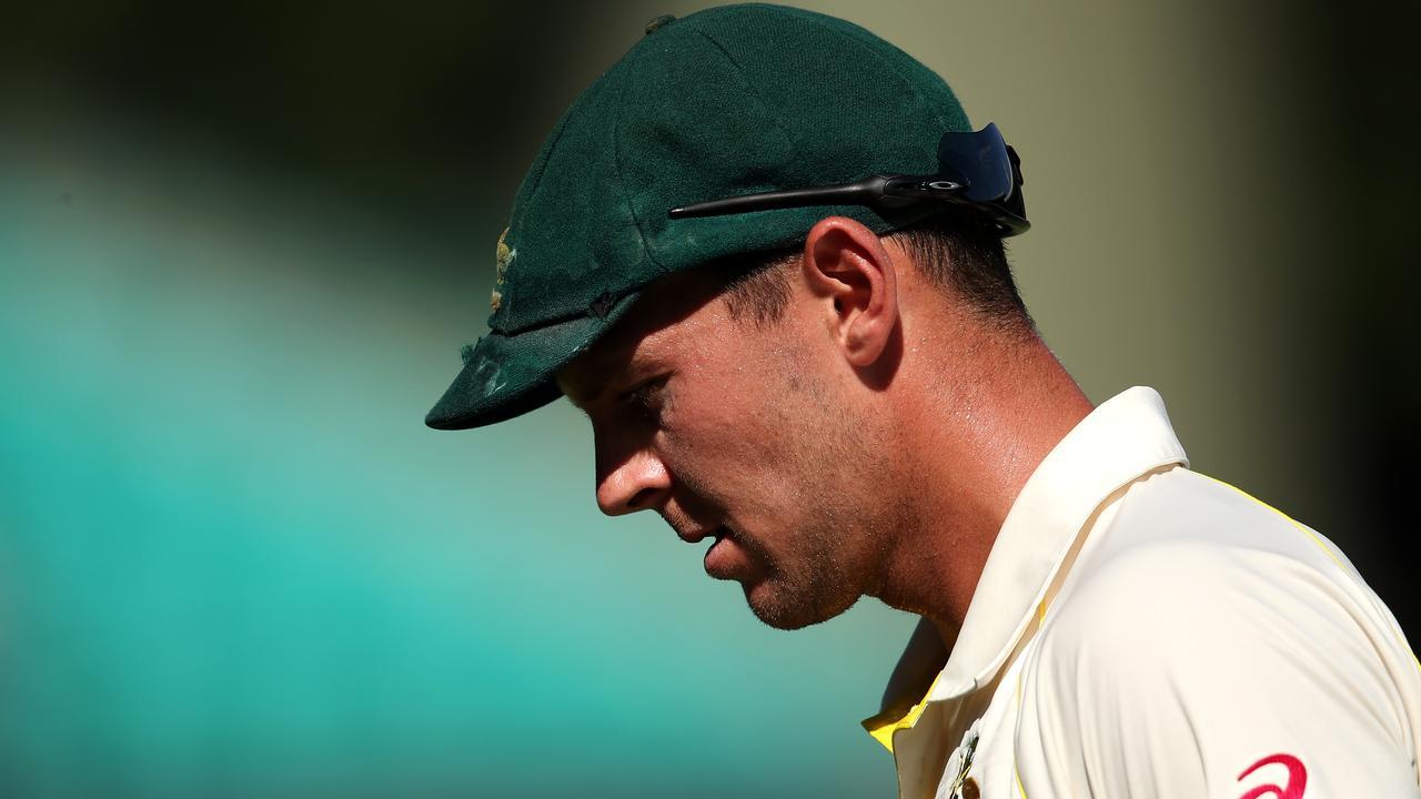Josh Hazlewood suffered a back injury during the Australian summer.