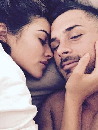 Danny Amendola and former Miss Universe girlfriend Olivia Culpo. Picture: Instagra,
