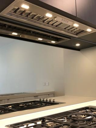 Whispair Monte Carlo's 90 undermount rangehood with on-board power 1020M3/hr motor system priced at $1490. Picture: supplied