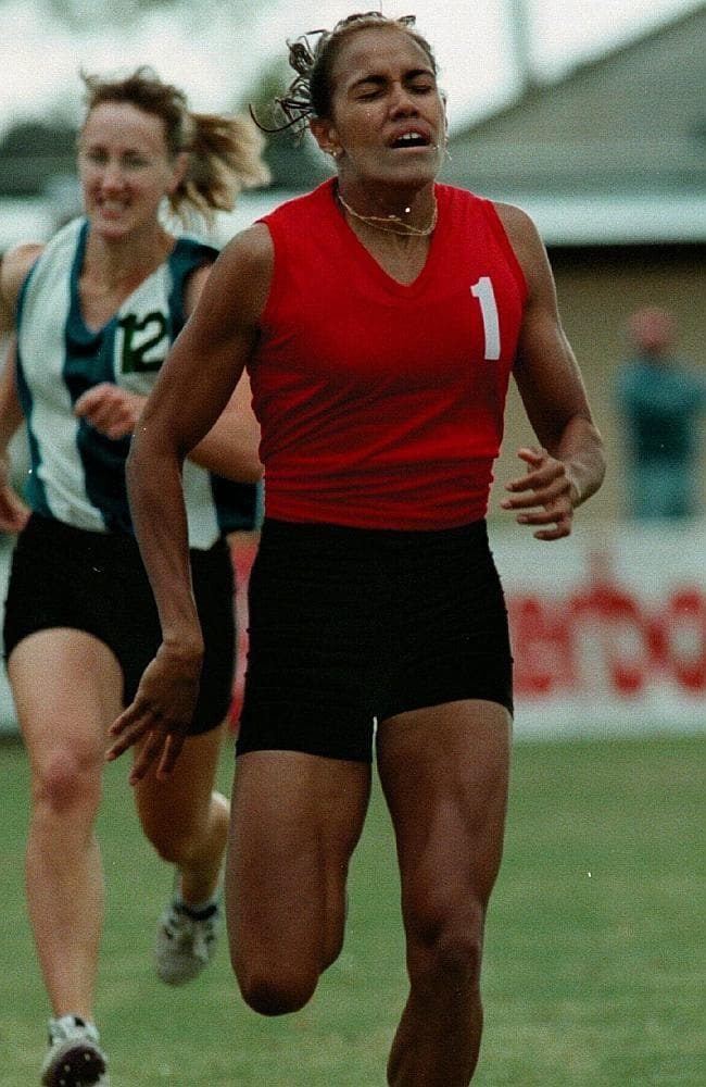 Cathy freemans stawell gift performance among her finest hours cathy freeman wins the 400 metres at stawell in 1996 negle Image collections