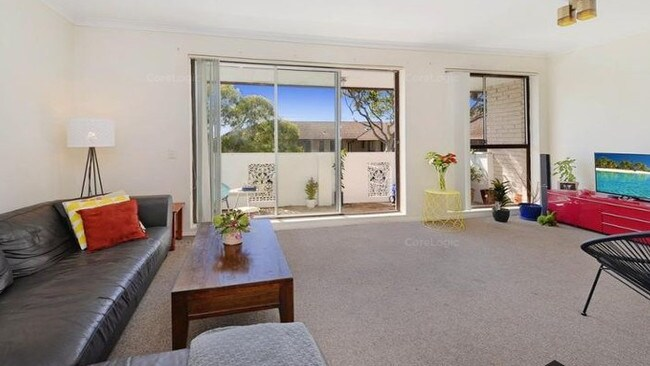 BEFORE: Mark Cook's Randwick unit picture prior to the renovation. Picture: CoreLogic