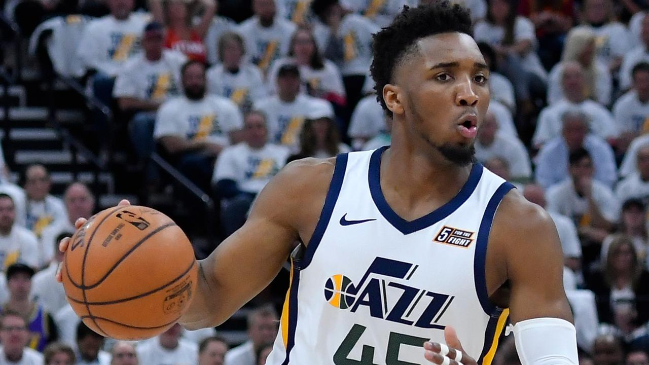 Donovan Mitchell stepped up as the Jazz forced Game 5.