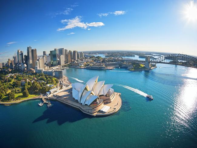 The glistening harbour city of Sydney topped the list for the third straight year. Picture: TripAdvisor