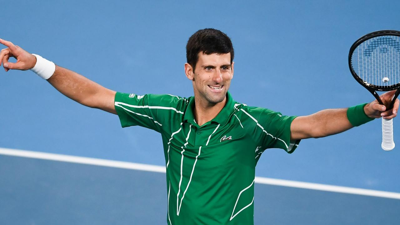 Djokovic is the reigning Australian Open champion. (Photo by Manan VATSYAYANA / AFP) /