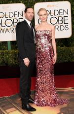Michael Polish and Kate Bosworth attend the 73rd Annual Golden Globe Awards held at the Beverly Hilton Hotel on January 10, 2016 in Beverly Hills, California. Picture: Jason Merritt/Getty Images/AFP