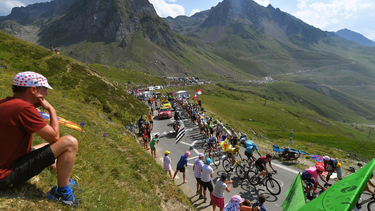 Stage 14, 117km from Tarbes to Tourmalet.