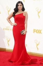 Ariel Winter attends the 67th Annual Primetime Emmy Awards in Los Angeles. Picture: AP