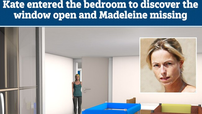 Kate McCann was the first to discover her daughter was missing.