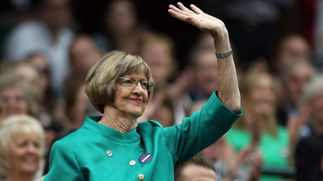 Margaret Court last year claimed she was a victim of a US-led conspiracy following calls to remove her name from one of the arenas at the Australian Open. Picture: Steve Paston/PA Wire