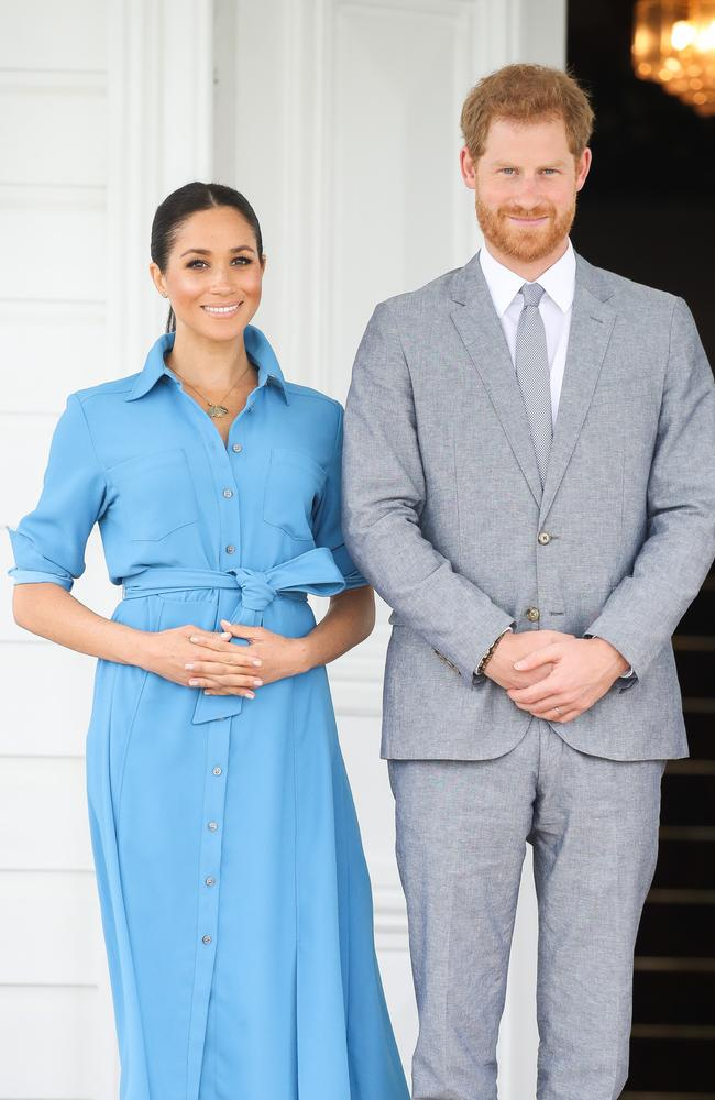 Despite the freedom, Harry and Meghan are tipped to choose a more traditional royal name. Picture: Chris Jackson