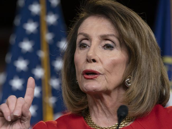 Speaker of the House Nancy Pelosi has defended the move by Richard Neal to demand US President Donald Trump's tax returns for six years. Picture: AP