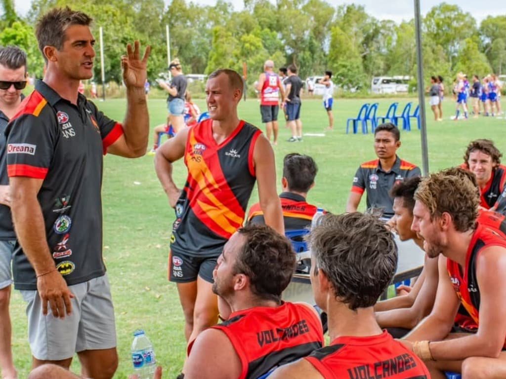 Ricky Olarenshaw has been Geckos coach for the past few years.