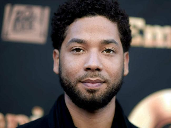 Chicago police found Jussie Smollett's behaviour around the reporting of the crime suspicious. Picture: AP