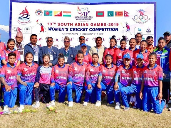 Nepal Women's national cricket team won bronze at the 2019 South Asian Games.