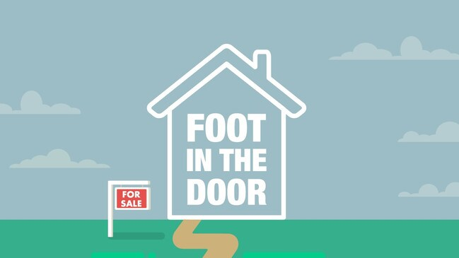 Welcome to Foot in the Door, news.com.au's new series on first-home buyers. Source: Supplied