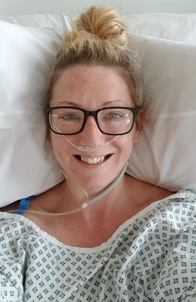 Alexis missed one pap smear test in 2015, her fiance said. Picture: Facebook