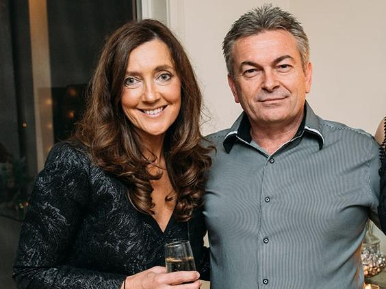 Karen Ristevski with her husband and killer Borce.