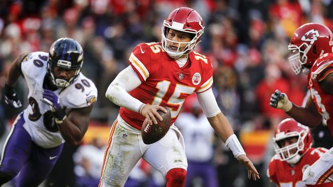 Kansas City quarterback Patrick Mahomes has been an absolute beast this season.