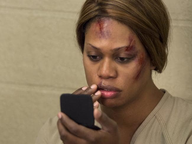 Laverne Cox in Orange is the New Black. Picture: Supplied