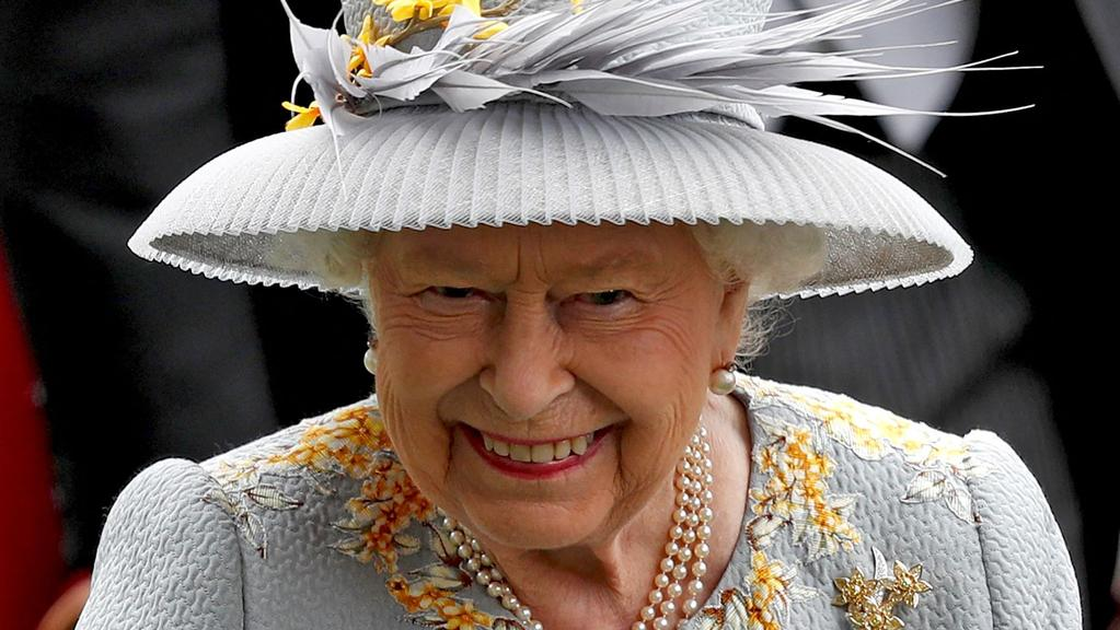 """The Queen is said to be """"delighted"""" about the birth of her new granddaughter. Picture: Adrian DENNIS / AFP"""