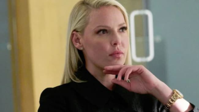 Katherine Heigl took over from Meghan Markle, but the show still didn't survive. Picture: USA Network Source: Supplied