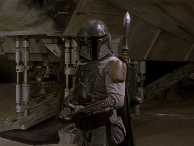 Did he have a bigger role? ... Boba Fett appears in the 1997 version of Star Wars.