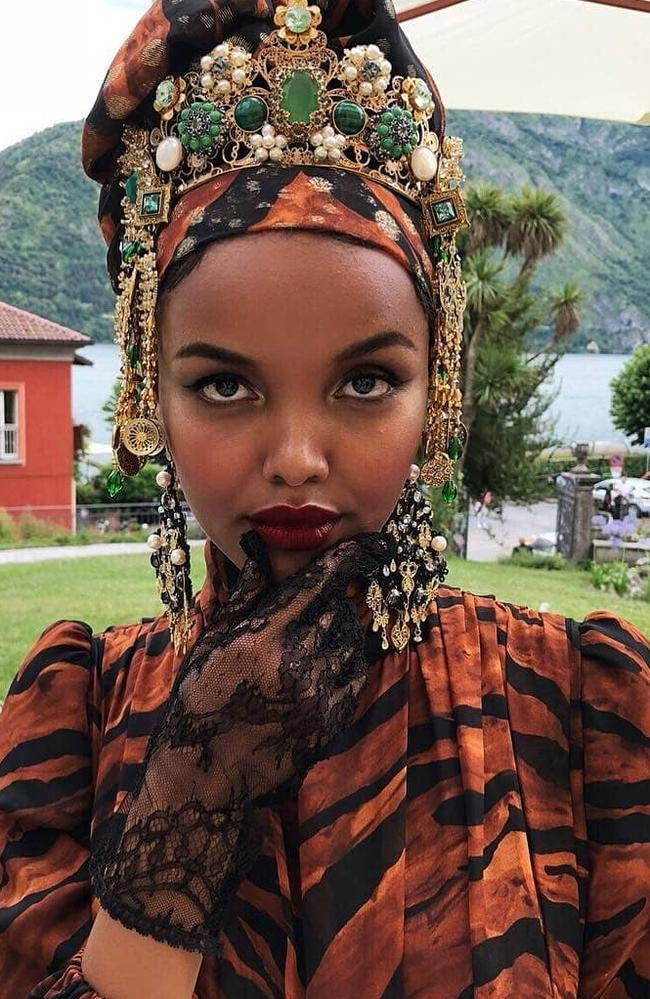 Halima Aden has made history in the pages of Sports Illustrated.
