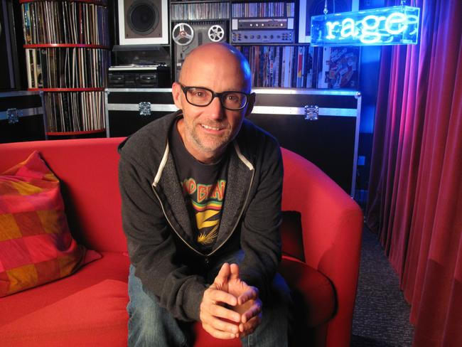 US musician Moby made some interesting choices during his guest programming slot.