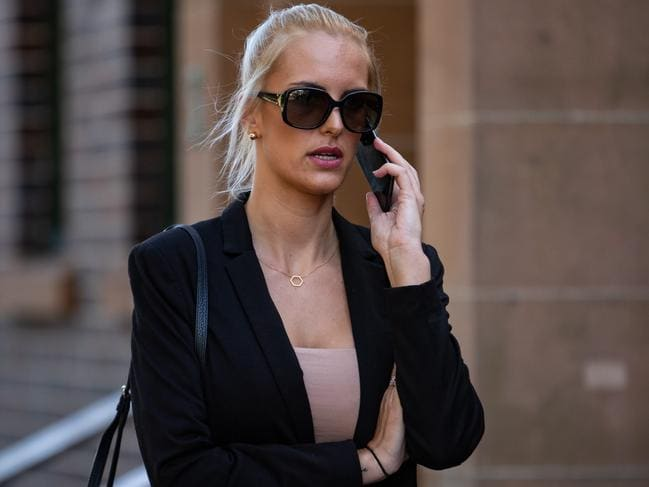 Monique Agostino is facing a string of charges. Picture: AAP