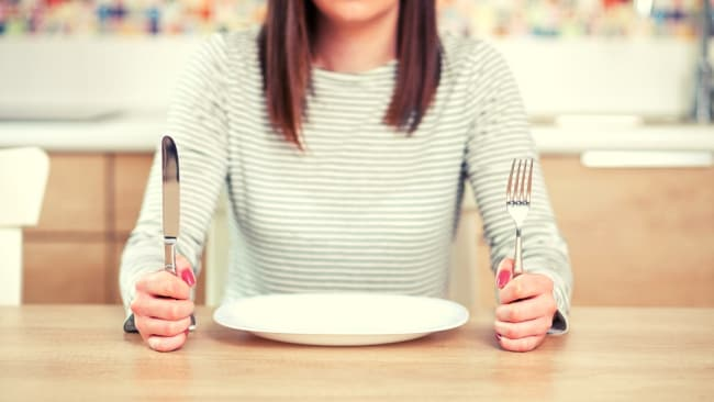 Skipping meals isn;t a bad thing. Source: iStock.
